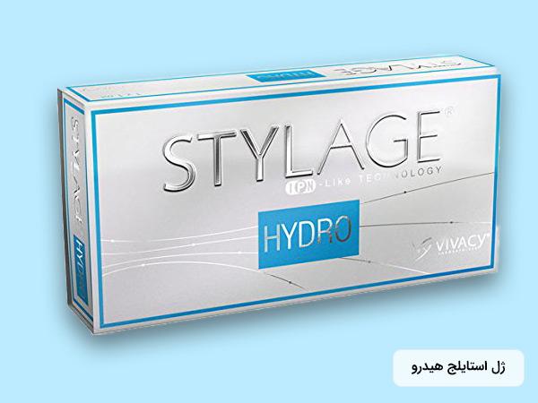ژل استايلج هيدرو با بسته بندي آبي