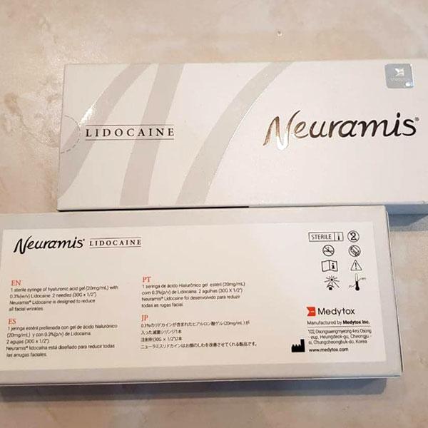 قیمت ژل نورامیس لیدوکائین دار یا همان ژل زیر چشم نورامیس با زمینه آبی کم رنگ و با بهترین و مناسب ترین قیمت