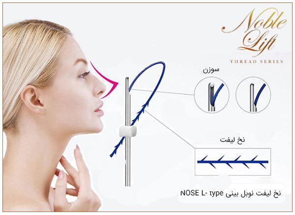 نخ لیفت کاگ بینی برای خرید و سفارش قیمت