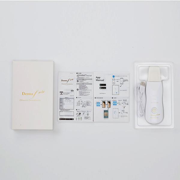 مشخصات و محتویات داخل جعبه دستگاه اتوی صورت درما اف گلد