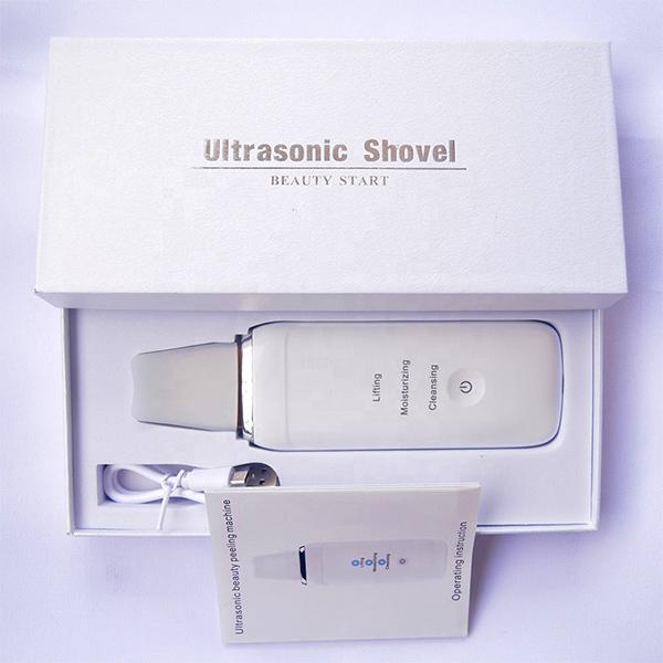 محتویات داخل جعبه دستگاه درما اف اولتراسونيک شاول Shovel