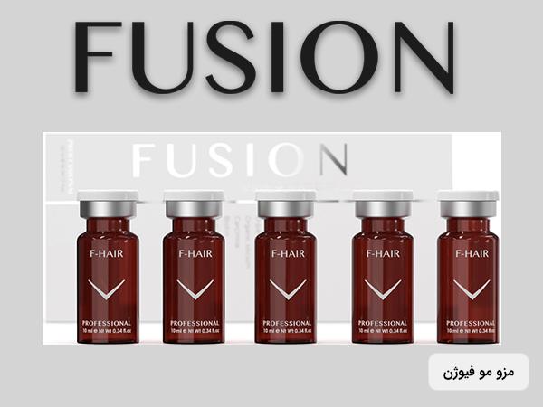 5 ویال کوکتل مزوتراپی مو فیوژن در یک ردیف برای تقویت مو و جلوگیری از ریزش موی سر