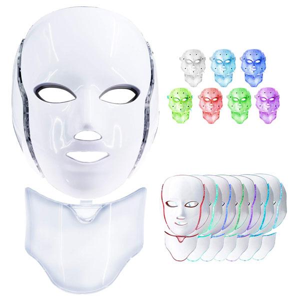 ماسک نور درمانی در رنگ های مختلف