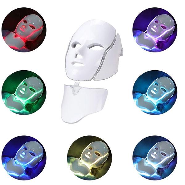 رنگ های مختلف نوری در ماسک لایت تراپی